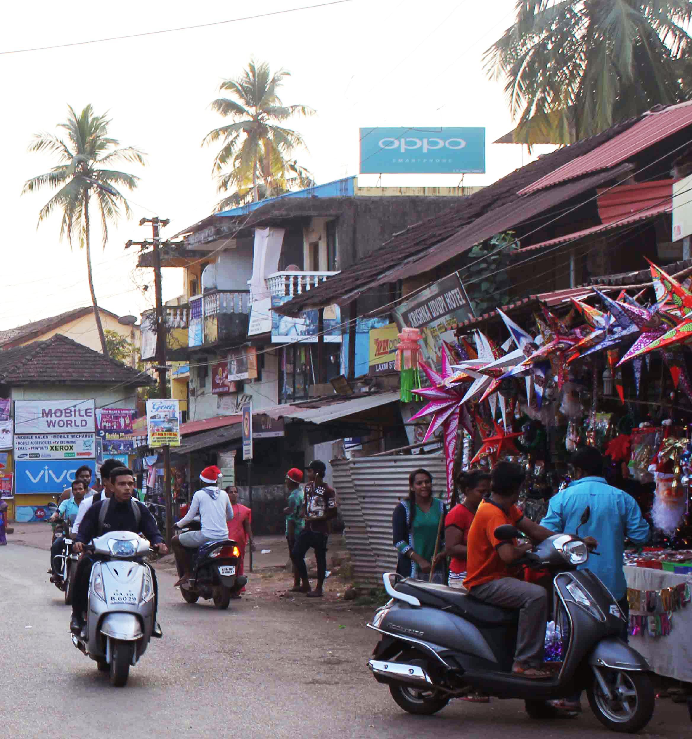 Julaftonsdag i Goa